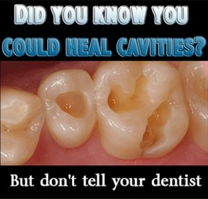 Healing cavities naturally