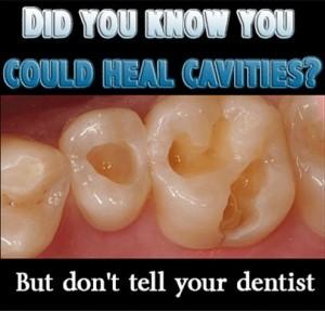 Healing cavities naturally