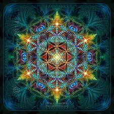 Energetic level fractal flower