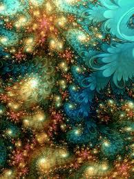 Mental level fractal flower