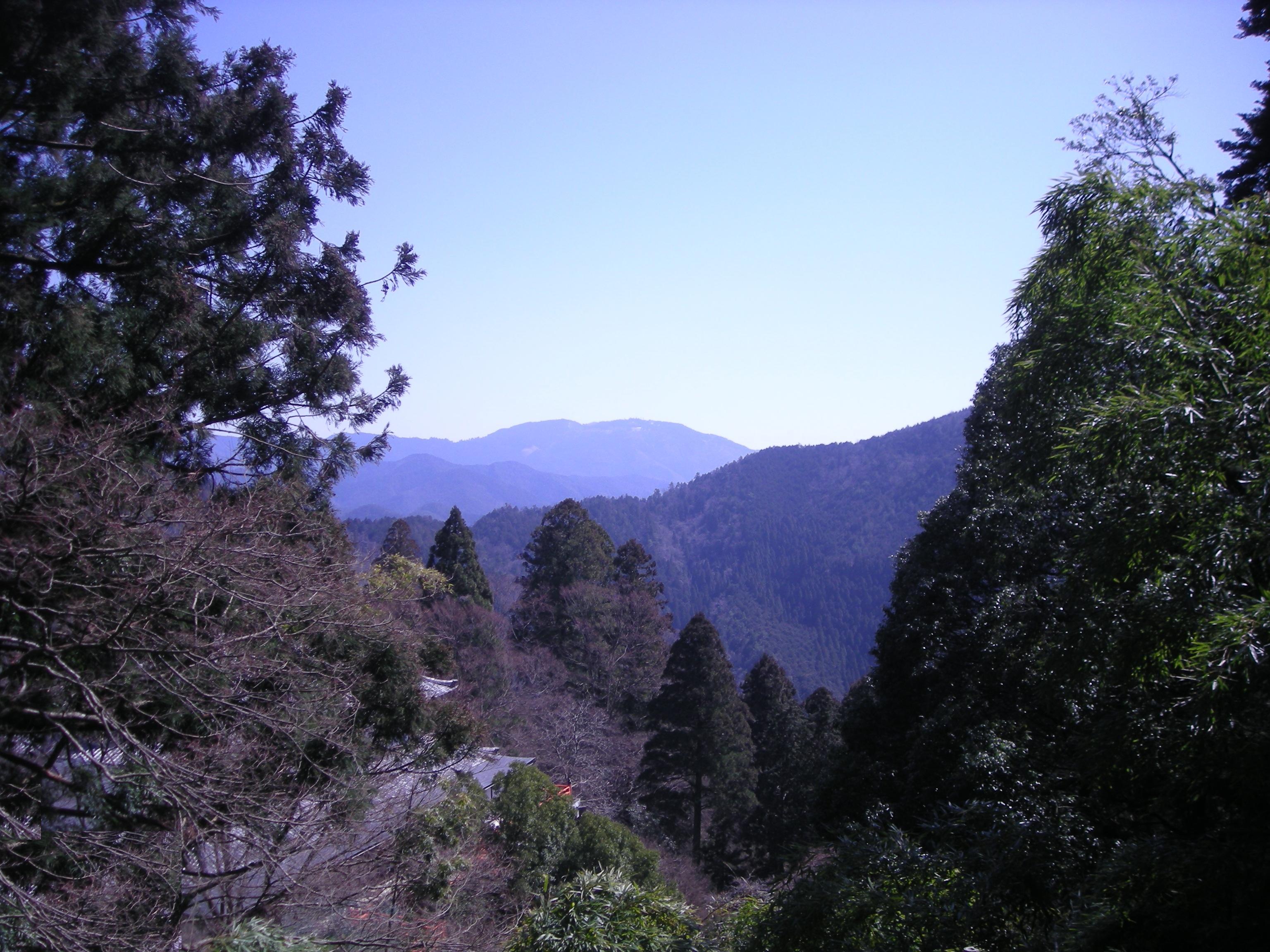 Vaade Kurama mäelt